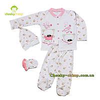 Комплект одежды для малышки Мишутка, фото 1