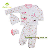 Пижама для малышки Мишутка, фото 1