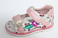 Детские нарядные босоножки бренда Y.TOP для девочек (рр. с 21 по 26)