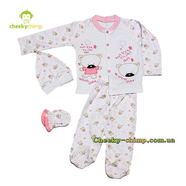 Комплект одежды для малышки Мишутка