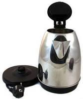 Отличный дисковый электрический чайник Domotec GERMANY - металлический корпус!, Хит продаж