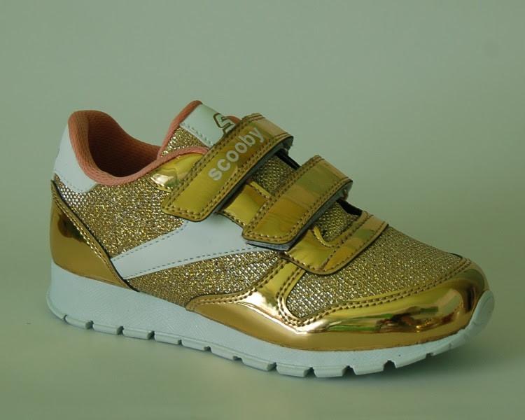 582decae9e74 Кроссовки для девочки подростка, Scooby золото, 32, 35  продажа ...