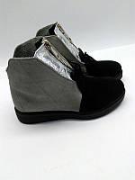 Ботинки женские зима/весна кожаные черные, розовые, синие, сверые AL0054