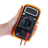 Профессиональный цифровой мультиметр тестер 830L Качество! + щупы+ крона!!, Хит продаж