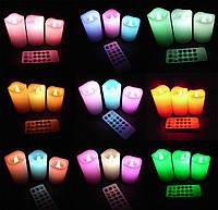 Набор светодиодных свечей Luma Candles Color Changing, Хит продаж