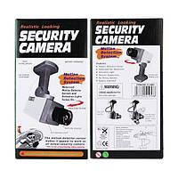 Муляж камеры видеонаблюдения (поворотный) Realistic Looking Security Camera, Хит продаж