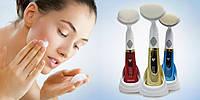 Ультразвуковой массажер для чистки лица Pobling Sonic Pore Cleanser Color, Хит продаж