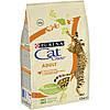Cat Chow Adult корм для взрослых кошек с курицей и индейкой, 0.4 кг