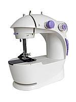 Швейная машина 4 в 1 FHSM - 201 + электронная педаль + адаптер! КАЧЕСТВО, Хит продаж