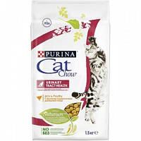 Cat Chow Urinary Tract Health корм для кошек, профилактика мочекаменной болезни, 1.5 кг