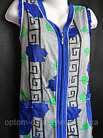 Женские летние халаты на молнии, фото 1