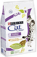 Cat Chow Hairball Control корм для кошек для выведения комочков шерсти, 15 кг