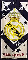 Полотенце махровое пляжное Real Madrid-2, 75х150 см