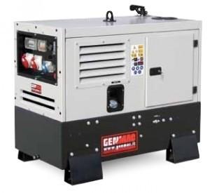 Однофазный дизельный генератор GENMAC Urban RG 12000 LSM (12,0 кВт)