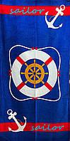 Полотенце махровое пляжное Sailor, 75х150 см