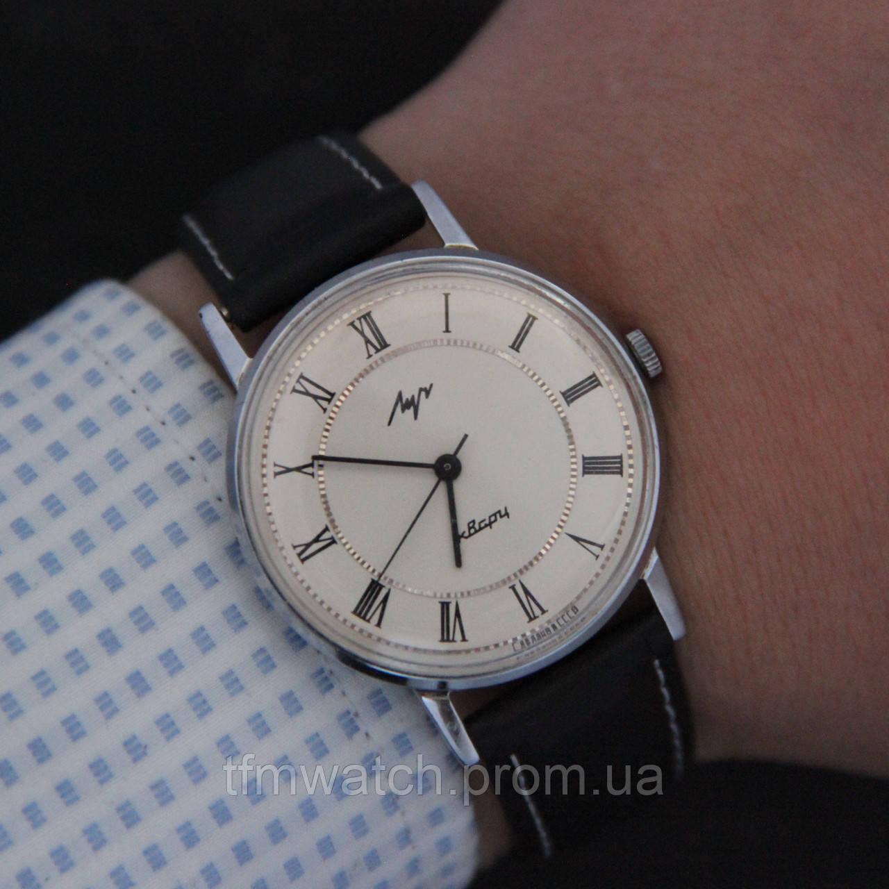 Мужские часы луч кварц 5w30