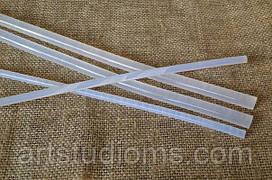 Клеевой стержень для термопистолета 7мм., длина стержня ― 27 см.