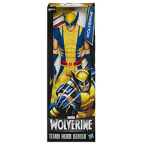 Большая игрушка Hasbro Росомаха, серия Титаны 30 см - Wolverine, Titan Hero Series