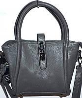 Маленькие женские сумочки и саквожи (СЕРЫЙ)