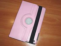 Розовый чехол для iPad mini поворотный, 360 градусов