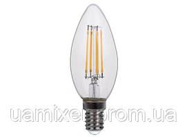 Акция! Luxel Лампа LED 071-H C35 (filament) 4W/E14