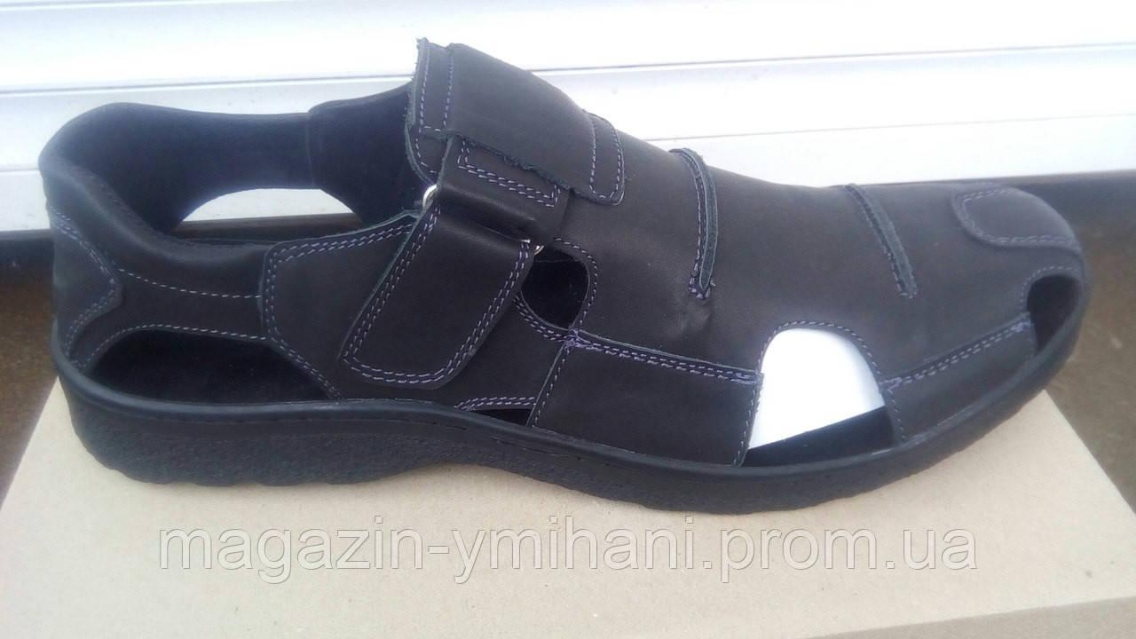 f22cb4afb Мужские черные сандали большого размера 46-49р - Интернет-магазин
