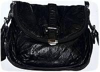 Женские клатчи и сумочки на плечо варёнка (ЧЕРНЫЙ)