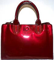 Женские элитные сумки Премиум класса (БОРДО - В ЛАКЕ)