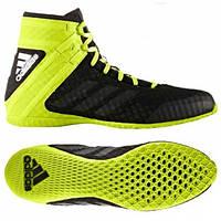 Боксерки Adidas SPEEDEX 16.1 (черно-зеленые)