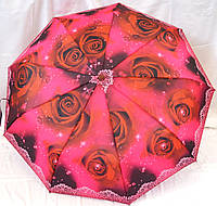 Зонты женские АВТОМАТ в подарочных упаковках (3 цвета)