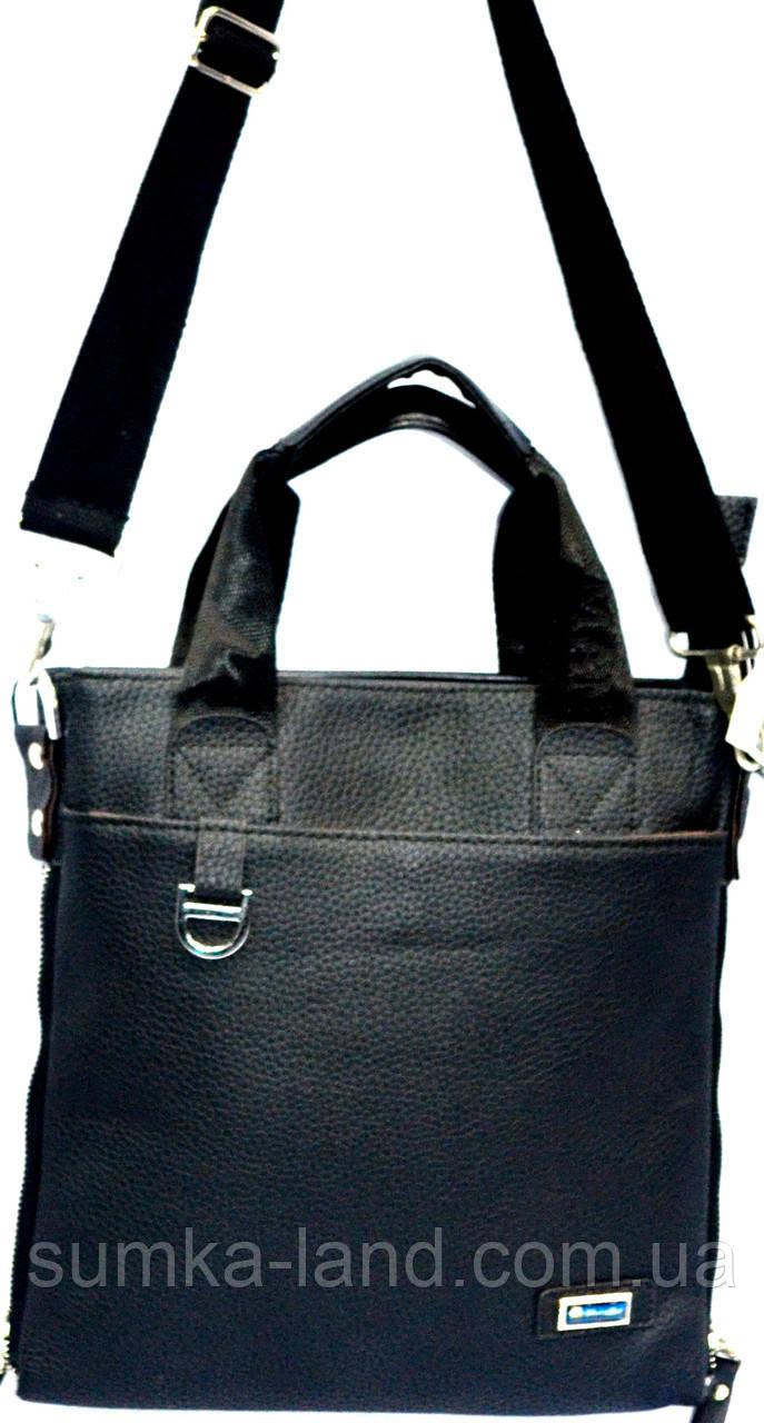Барсетка - сумка большая (черный)