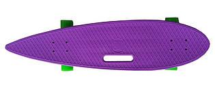 Доска для катания «GO Travel» (LS3609) лонгборд с ручкой, 92 см