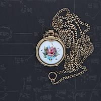 Чайка ювелирные женские механические часы-кулон