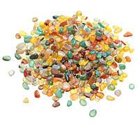 Камни для декора Кварц Ассорти (5-10 мм) 500 грамм