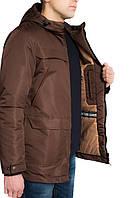 Парка мужская коричневая, весна / осень 2017 / куртка мужская весна XL