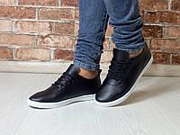 Кроссовки, кеды Navigator на шнуровке черные