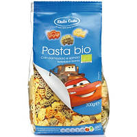 Макароны детские Dalla Costa Bio «Тачки» c томатом и шпинатом, 300 г., фото 1