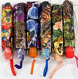 Зонты женские ПОЛУАВТОМАТ (6 цветов), фото 4