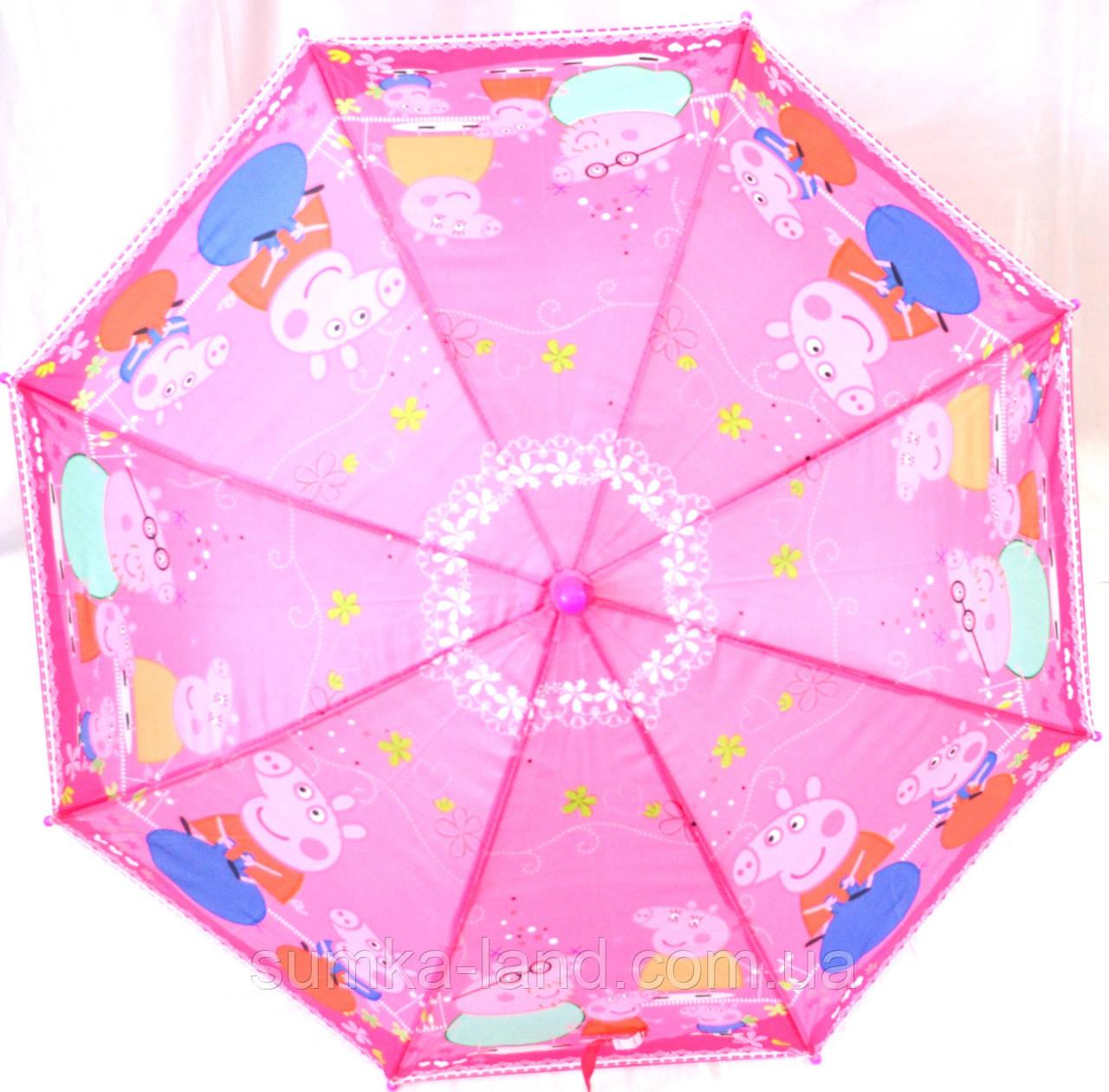 Зонты - трости детские + СВИСТОК (3 цвета)