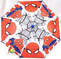 Зонты - трости детские ЧЕЛОВЕК ПАУК (2 цвета), фото 1