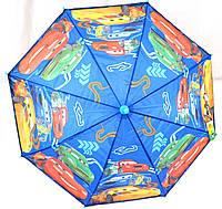 Зонты - трости детские ТАЧКИ (2 цвета)