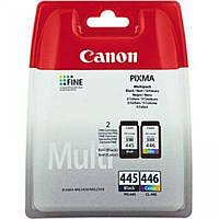 Комплект струйных картриджей для принтера СANON PG 445 + CL 446 multipack принтер сканер копир