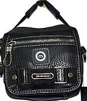 Мужские барсетки и сумки из искуственной кожи (ЧЕРНЫЙ)
