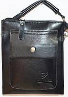 Кожаные мужские барсетки и сумки (ЧЕРНЫЙ), фото 1