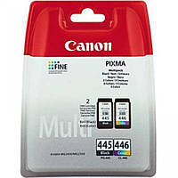 Комплект струйных картриджей для принтера СANON PG 445 + CL 446 multipack печать фотографий текста