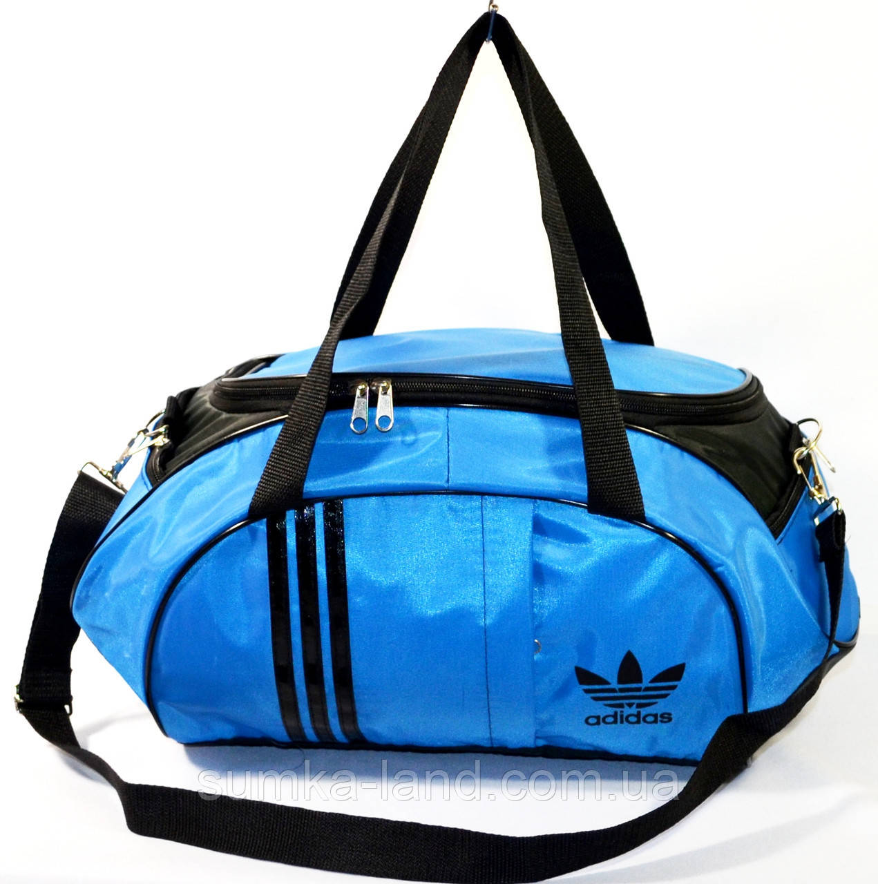 Сумка Adidas (голуб\черн)