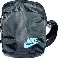 Барсетки мужские на плечо Nike маленькие 16х12 (ЧЕРНЫЙ)