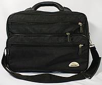 Мужская каркасная сумка Wallaby с пластиковой ручкой в черном цвете