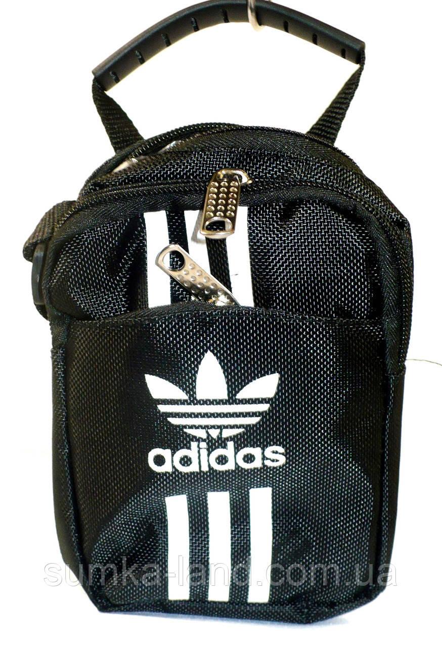 4c14f87648a1 Барсетка маленькие Adidas (черн), цена 75 грн., купить в Харькове ...