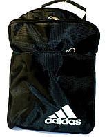 Мужская барсетка Adidas большая в черном цвете